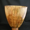 Spalted Turned Light Bowl by Al Rabold